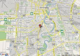 winnipeg map map of quality inn and suites winnipeg winnipeg