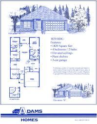 28 adams homes floor plans simpleaffordablehouseplans30x68