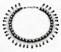 free pattern for beaded necklace viva beads magic seed bead