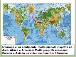 africa e asia mappa europa fisica ppt scaricare