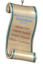 beach christmas ornaments u2013 fun christmas ornaments