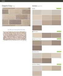 dapple gray gray face brick belden behr ppg paints ralph