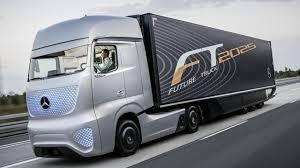 electric mini truck bbc autos mercedes u0027 self driving truck