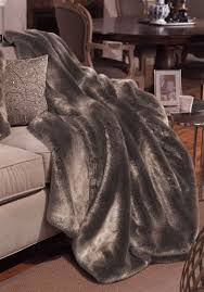 Faux Fur Duvet Cover Timber Wolf Couture Collection Faux Fur Throws Faux Fur Blankets