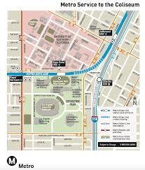 Metro Map Silver Line by Metro Game Day Service For Football Football And More Football