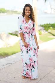 floral maxi dress ivory floral wrap maxi dress maxi dresses saved by the dress