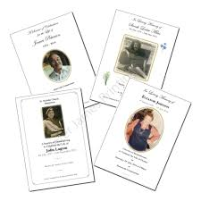 order thanksgiving funeral order of service peter james printing ltd