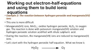 balanced chemical equation for hydrogen peroxide and potassium