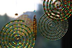 Craft Ideas For The Garden Bead Mobile Gardens And Craft