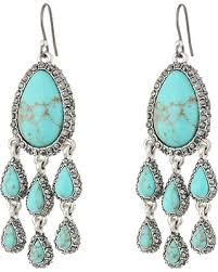 earrings brand tis the season for savings on lucky brand turquoise pave
