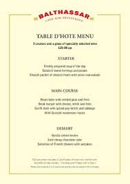 table d hote menu balthassar table d hote menu by red amber green issuu