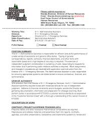 executive assistant sample resume 2013