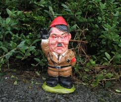 Garden Nome by Adolf Garden Gnome Politically Incorrect Caricature