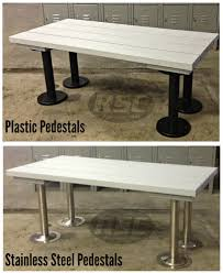 ada plastic slat locker room bench