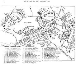Black And White Map Maps Archive Wagner Hs Clark Ab And The Philippines