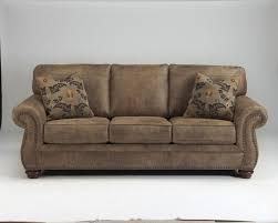 Ebay Furniture Sofa Ashley 3190138 Larkinhurst Earth Tone Leather Look Fabric Sofa