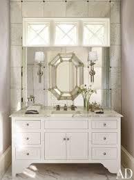 Mirror On Mirror Bathroom 12 Bathroom Mirror Ideas For Every Style Architectural Digest