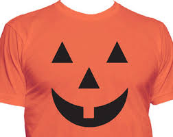 Shirt Halloween Costume Pumpkin Shirt Etsy