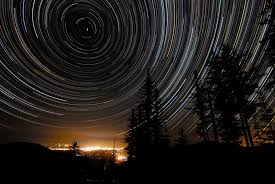 polaris star apod 2009 september 9 star trails over oregon