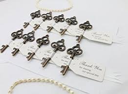 wedding favors bottle opener 30pcs copper wedding favor skeleton key bottle openers