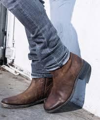 joe zipper boot brown men goosecraft