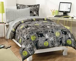 amazon com my room extreme skateboarding boys comforter set with amazon com my room extreme skateboarding boys comforter set with 180tc sheets gray twin home kitchen
