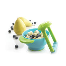 amazon com nuk mash and serve bowl for making homemade baby food