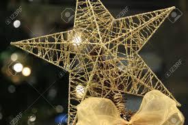 star christmas tree topper christmas lights decoration
