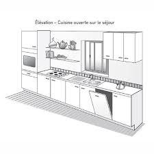plan cuisine l plan cuisine avec ilot central 9 de systembase co