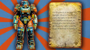 fallout 4 atom cats power armor paint guide youtube