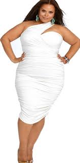 all white dresses in plus sizes