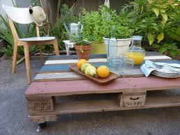 Making Outdoor Furniture Out Of Pallets - Recycled outdoor furniture