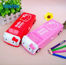 pencil boxes 2016 multi function automatic pencil with wheel layer