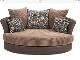 Sofa Round Living Room Comfortable Cuddler Sofa For Elegant Living Room