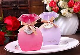 Diamond Wedding Party Decorations Aliexpress Com Buy Red Purple Fuchsia Diamond Wedding Boxes 2015