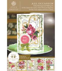 all occasion cards griffin pretty paintings cardmaking kit joann
