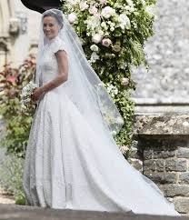 pippa middleton wedding dress giles deacon dress the lace and