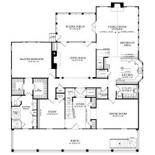 southern style house plan 4 beds 4 baths 4298 sq ft plan 137