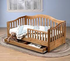amazon com sorelle grande toddler bed oak on pine baby