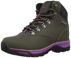 womens walking boots sale trespass womens theodora trekking and hiking boots s shoes