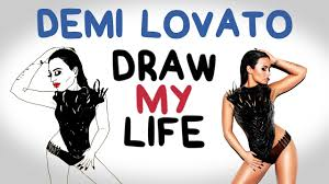 demi lovato childhood biography demi lovato draw my life youtube