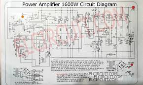 2 1 home theater circuit diagram 1600w high power amplifier circuit complete pcb layout