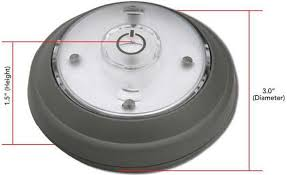 battery operated wireless cabinet led light puck style