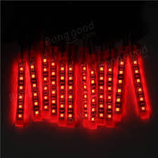 Auto Led Light Strips 12x Led Remote Wireless Neon Light Strips Kit For Car Truck Lorry