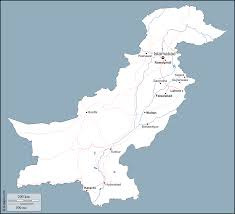 Hyderabad Map Pakistan Free Map Free Blank Map Free Outline Map Free Base Map