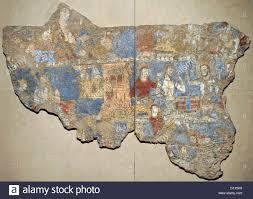 sogdia pre islamic central asia sculptural composition clay pre islamic central asia mural gamblers wall painting glue