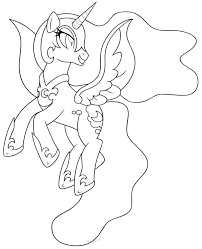 my little pony nightmare moon coloring pages getcoloringpages com