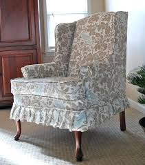 slipcover for wing chair wing chair wingback chair slipcovers