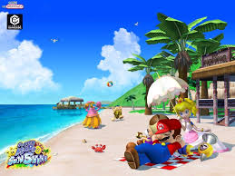 Paper Mario World Map by Super Mario Sunshine The Third Mario Game First 3d Mario Game
