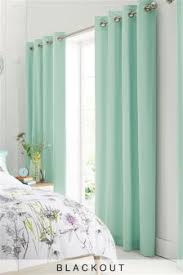 Mint Green Curtains Green Eyelet Blackout Curtains Functionalities Net